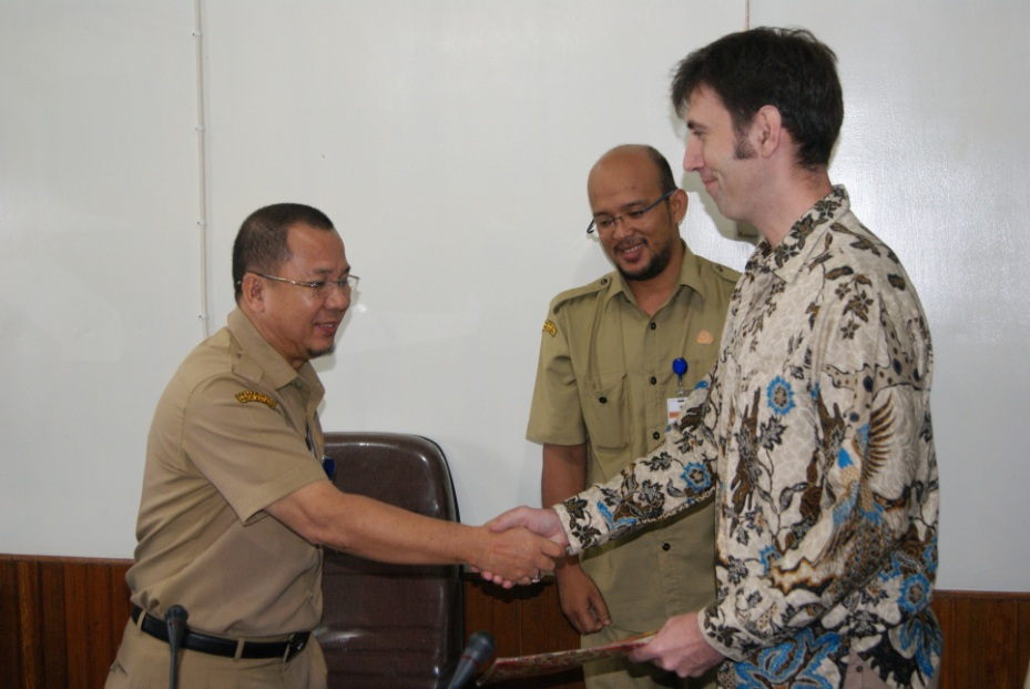 MoU signed with Kapuas Hulu on District Strategic Area for